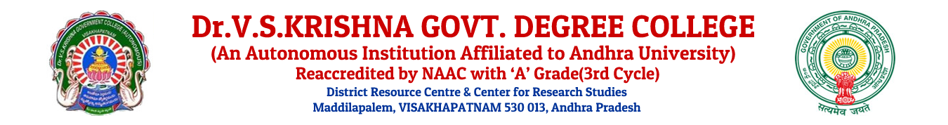 Dr. V. S. Krishna Govt. Degree and PG College, Visakhapatnam